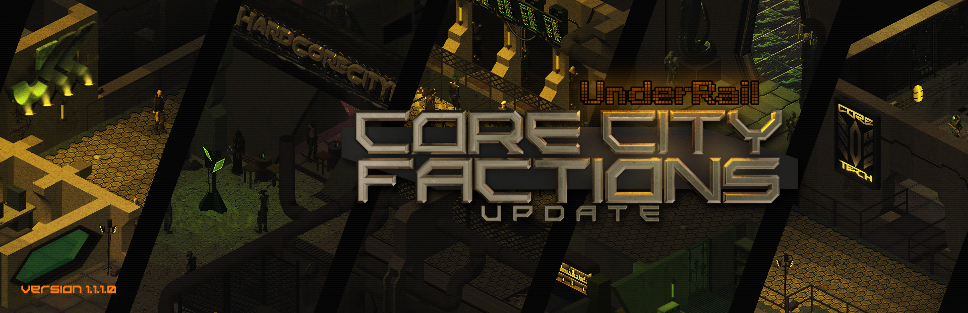 Underrail - Core City Factions Update - 1.1.1.0